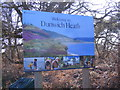 TM4768 : Welcome to Dunwich Heath sign by Adrian Cable