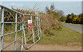 J4470 : Gates, Comber Greenway, Comber by Albert Bridge