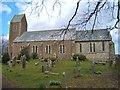 NU0139 : The Parish Church of St John the Baptist, Lowick by Barbara Carr