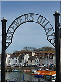 SY6878 : Weymouth: Brewer's Quay by Chris Downer
