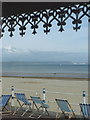 SY6879 : Weymouth: view from a prom shelter by Chris Downer