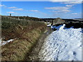 SE0238 : Snow Drifts on Turnshaw Road by Chris Heaton