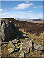 NY4801 : Rock outcrop, Sleddale Forest by Karl and Ali
