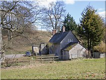 SP4317 : Fishery Cottage by David P Howard