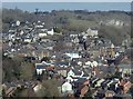 SK2853 : View of Wirksworth by Andrew Hill