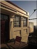 SX9265 : Barrier, Babbacombe Cliff Railway by Derek Harper