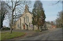 TQ7668 : Saint Barbara's Garrison Church, Maxwell Road, Chatham by Richard Gadsby