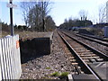 TM4069 : Railway Lines at Darsham Railway Station by Adrian Cable