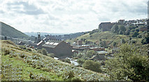ST1599 : Bargoed Colliery, 1973 by Ben Brooksbank: http://www.geograph.org.uk/profile/44502