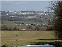 SK2649 : Fields and views near Field Farm by Andrew Hill
