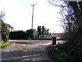 TM4368 : Wash Lane, Westleton by Adrian Cable