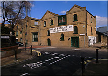 TQ3680 : Converted premises, Nelson Dock, Rotherhithe Street by Julian Osley
