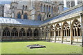 SK9771 : Cloisters, Lincoln Cathedral by J.Hannan-Briggs