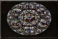 SK9771 : Chapter House Rose Window, Lincoln Cathedral by J.Hannan-Briggs