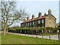 TQ4892 : Fox Burrows Cottages, Hainault Forest Country Park by Robin Webster