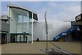 SJ6590 : The south eastern entrance to Birchwood Shopping Centre by David Lally