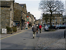SE0064 : Grassington:  Main Street by Dr Neil Clifton