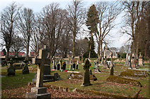 NZ0516 : Cemetery in Barnard Castle by Trevor Littlewood
