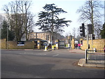 TQ2274 : Roehampton University main entrance by Chris Holifield