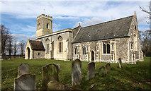 TL5458 : St John, Little Wilbraham by John Salmon