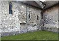 TL5457 : St Nicholas, Great Wilbraham - Exterior detail by John Salmon