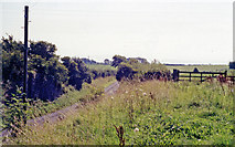 NY0735 : Site of former Dearham station by Ben Brooksbank