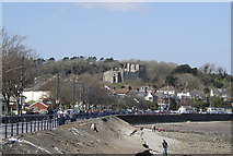 SS6188 : Oystermouth Castle by john bristow