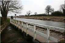SK7385 : Overspill on the Chesterfield Canal by Graham Hogg