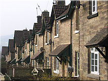 SK2666 : Rowsley - Chatsworth Road Nos 27 to 35 by Dave Bevis