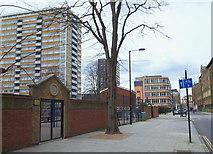 TQ3282 : Bath Street, London, EC1 by David Hallam-Jones