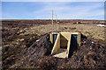 SD5957 : Shooting butts above Tarnsyke Clough by Ian Taylor