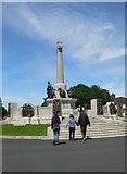 SJ3384 : War Memorial, Port Sunlight  by Eirian Evans
