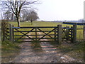 TG0805 : Footpath & entrance to St.Mary's Church by Adrian Cable