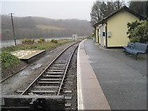 SX2553 : Looe railway station, Cornwall by Nigel Thompson