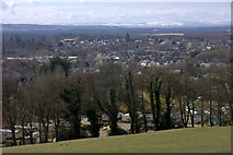 NO1846 : View over Blairgowrie from the Westfields of Rattray by Mike Pennington
