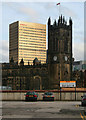 SJ8398 : Manchester Cathedral by Peter McDermott