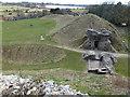 TF8115 : Castle Acre Castle ruins by Richard Humphrey