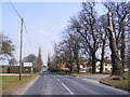 TG0704 : B1108 Station Road, Kimberley Green by Adrian Cable