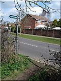 SP8925 : Footpath from Derwent Road by Philip Jeffrey