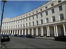 TQ2882 : Park Crescent, London W1 by Paul Gillett