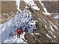 NY3228 : Sharp Edge, Blencathra by Adam Ward