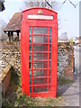 TG2701 : Poringland Telephone Box by Adrian Cable
