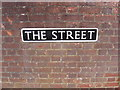 TG2701 : The Street sign by Adrian Cable