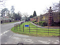 SU7785 : Entrance to Greenlands Dairy Farm from A4155 by Stuart Logan