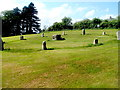 SO2801 : Stone circle, Pontypool Park, Pontypool by Jaggery