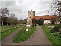 SU8985 : Cookham church by Row17