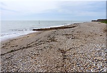 SZ8592 : Beach at Selsey Bill by Mike Smith