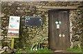 SX8078 : Doorway, walled garden at Parke by Derek Harper