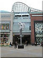 SE3033 : Trinity Shopping Centre - Briggate Entrance by Betty Longbottom