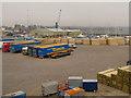 SZ0089 : Poole Freightliner Terminal by David Dixon